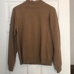 Vintage camel turtleneck